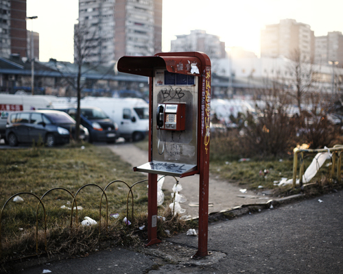 """Blok 70, Yuri Gagarin Street.  """"Serbia is hungry for investments, you can invest in Serbia and live here nicely, the only things that need to change is the mindset of some people, and when that happens, we'll move on."""""""