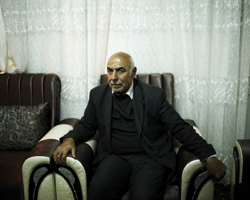 General Abdullateef Al Joboree, founder of the first division of the Free Syrian Army. The general was killed early august 2014 when an air strike hit his headquarter near Idlib.