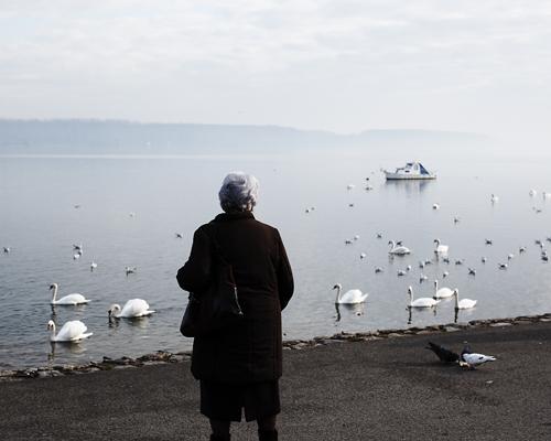 """Le Danube.  """"Mon futur, j'espère qu'un jour, ma femme, mon fils et moi prendrons un café en regardant notre foyer. C'est notre rêve, se réalisera-t-il, cela ne dépend pas de nous. Nous avons demandé aux autorités à de nombreuses reprises ces vingts dernières années. L'eau du Danube s'écoule comme nos jours passent. Parfois nous sommes heureux, parfois nous sommes tristes, parfois il pleut, parfois il neige."""""""
