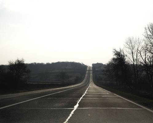 D906 portion, near La Croisée, former RN6.