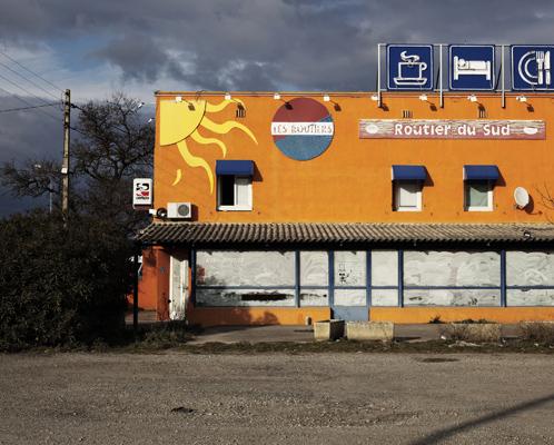 Trucker restaurant, near Donzère.
